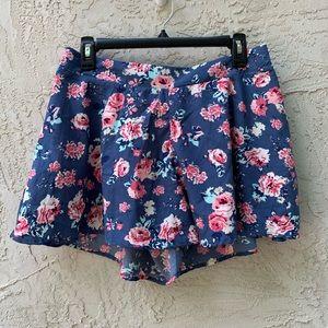 Charlotte Russe Floral Shorts